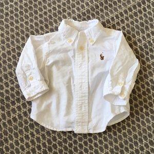 Ralph Lauren Oxford Shirt, 3M, NWOT